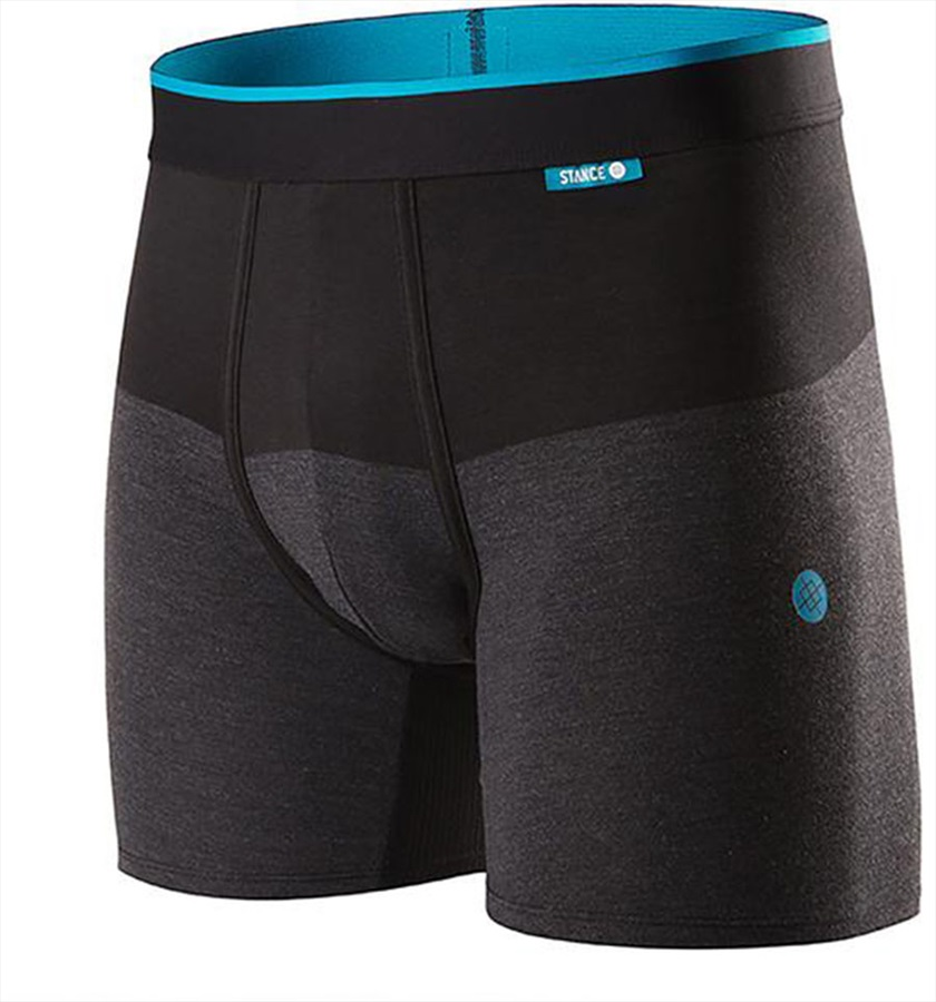 a01191221f121 Stance Mens Wholester Butter Blend Boxer Shorts Underwear, S Cartridge