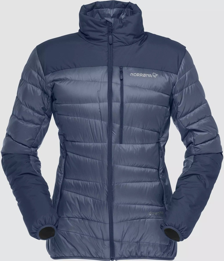 Norrona Womens Falketind Down Jacket Women's Down, UK 14 Indigo Night
