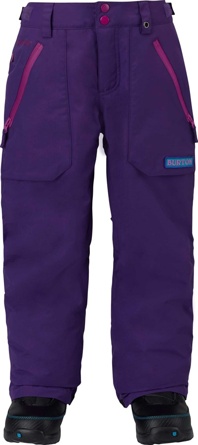 7a084ebca8b3 Burton - Kid s Snowboard Ski Pants Size Chart Fit Guide Table
