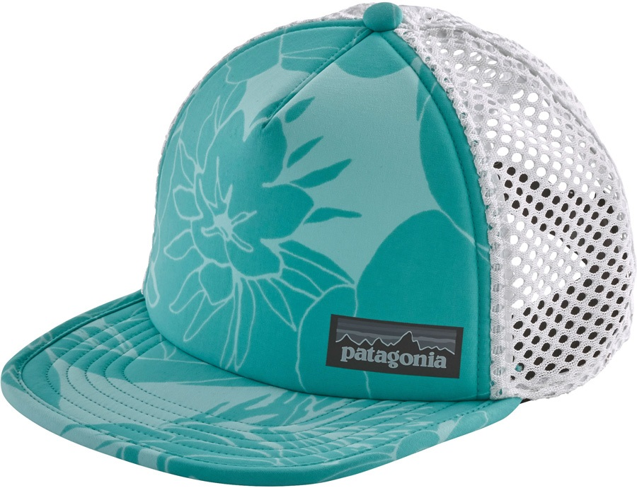 a44d1db7a Patagonia Duckbill Trucker Hat, Valley Flora Strait Blue