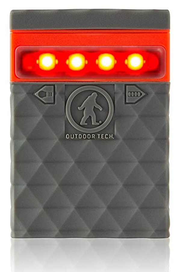 Outdoor Tech Kodiak Mini 2.0 Portable Battery Pack & Charger, Grey