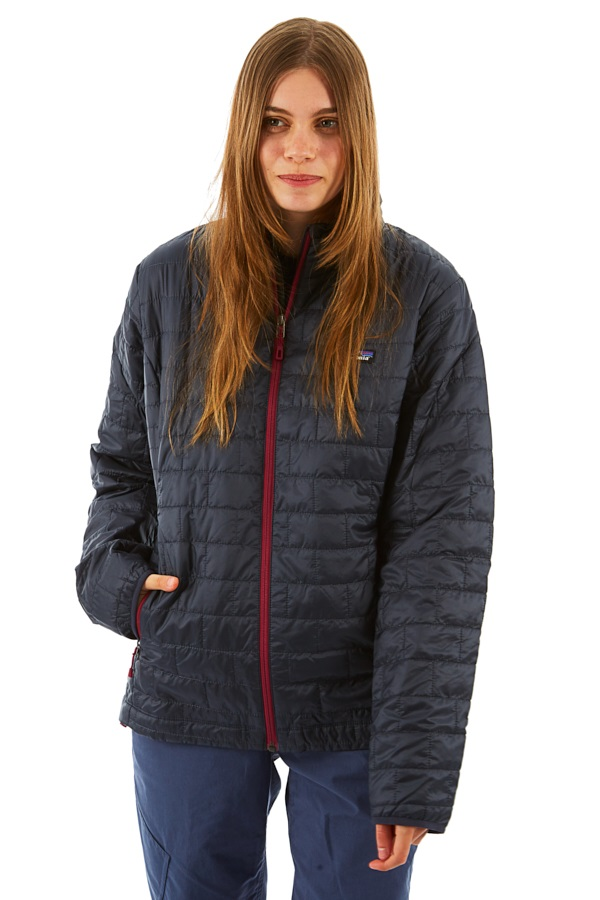 Patagonia Women's Nano Puff Insulated Jacket - L, Smolder Blue
