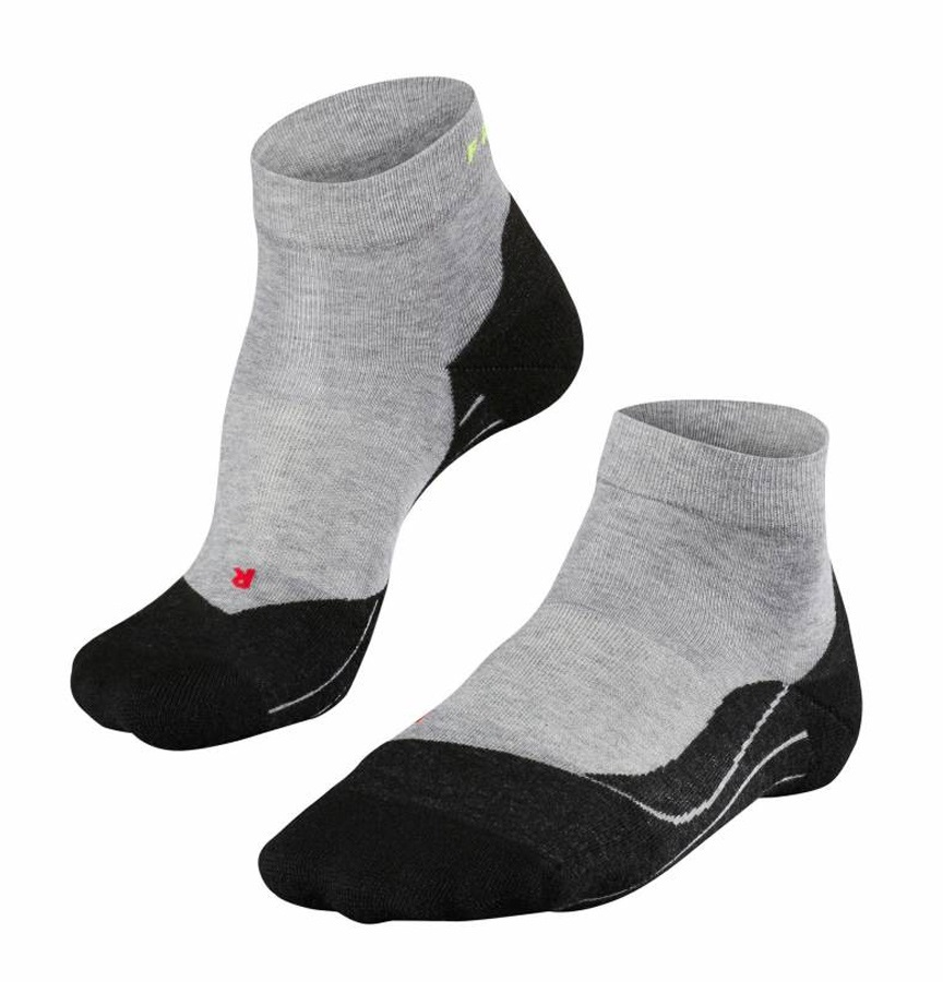 Falke RU 4 Short Men's Low Cut Running Socks, UK 11-12.5, Black Mix