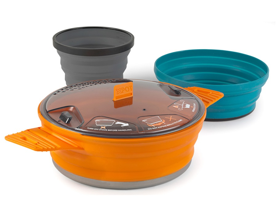 Sea to Summit X-Set 21 Cooking Set Camping Cookware 21 Multi Coloured