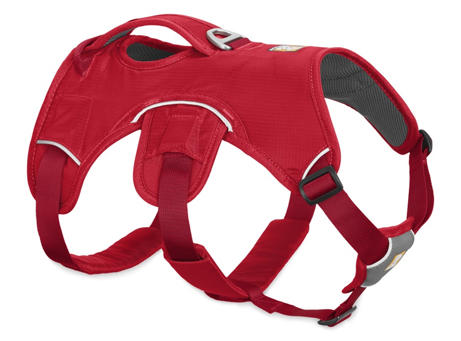 Ruffwear Web Master Active Dog Harness With Handle M Red Currant