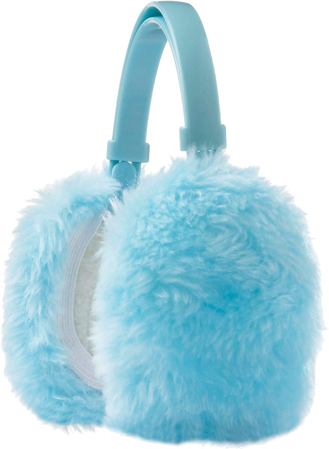 Manbi Faux Fur Ski/Snowboard Ear Muffs One Size Sky