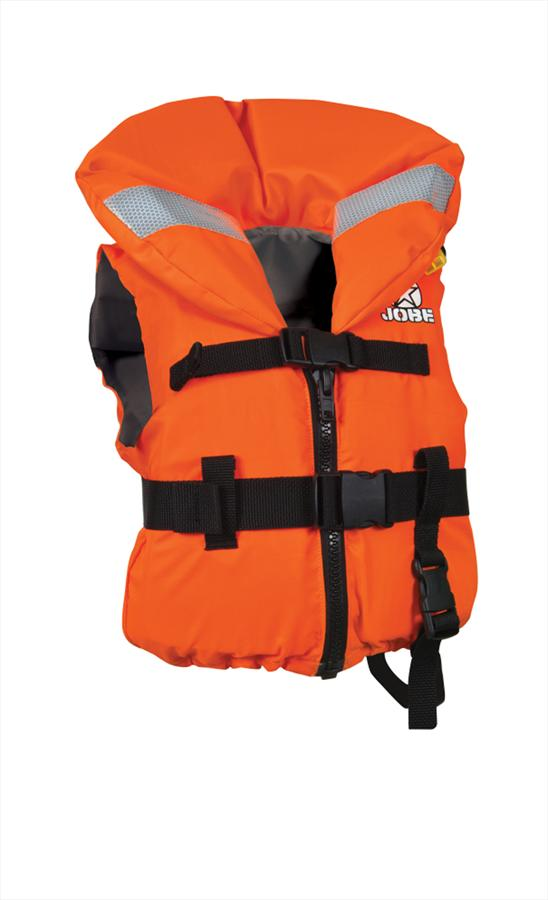 Jobe Comfort Boating Kids Buoyancy Vest, XS To S, Orange