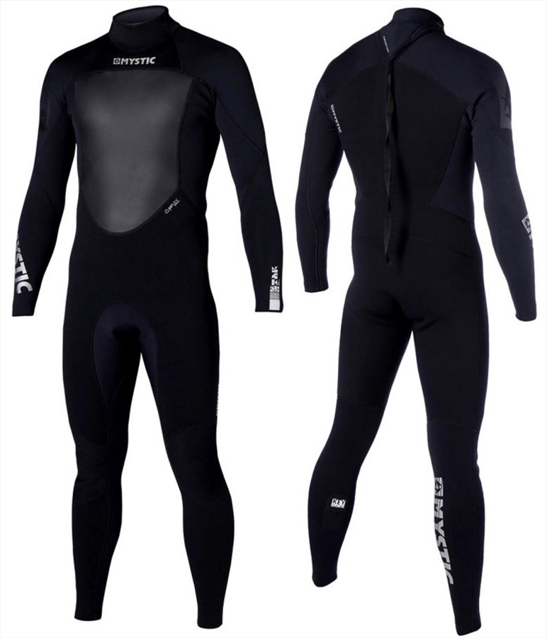 Mystic Star 3/2mm Full Wetsuit, XL Black