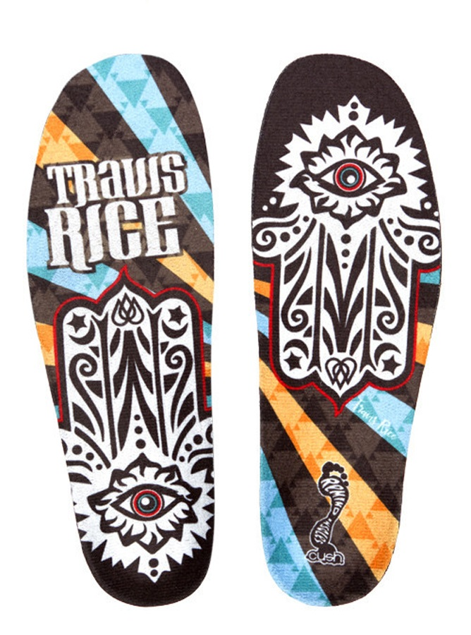 Remind The Cush Premium Insole Upgrade UK 7-7.5 Travis Rice