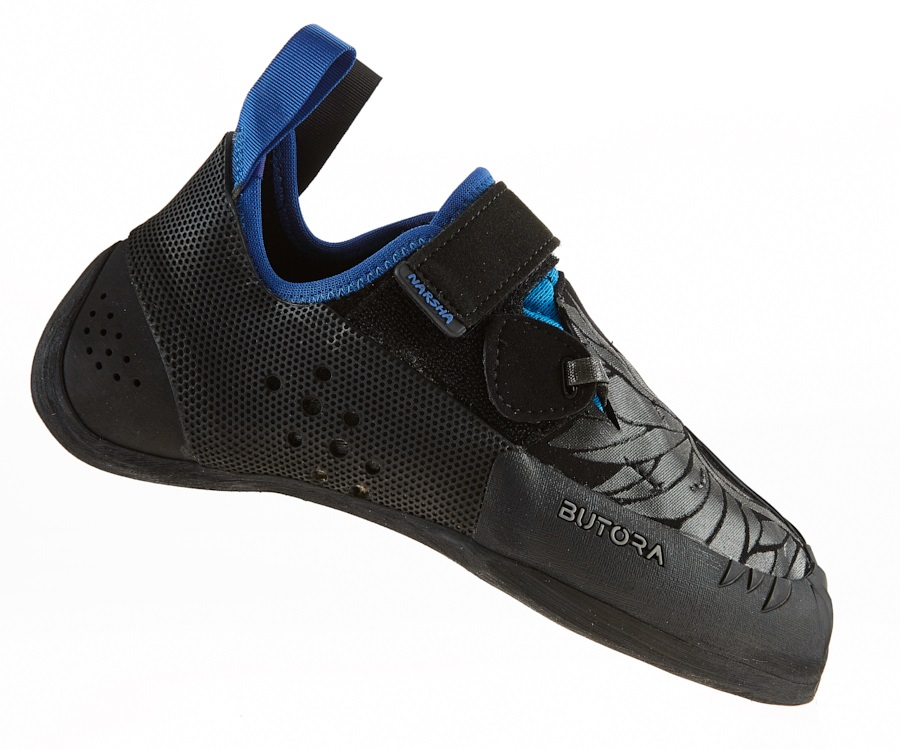Butora Narsha (Narrow) Rock Climbing Shoe: UK 11 | EU 46, Blue