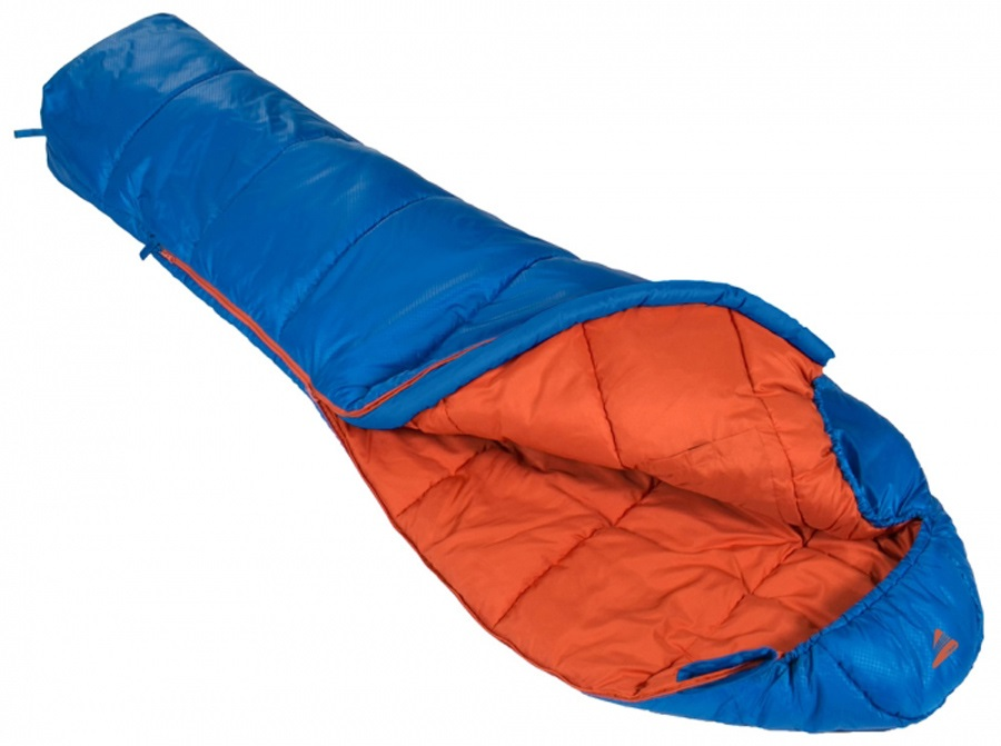Vango Nitestar Junior Child Unisex Sleeping Bag, 155cm Cobalt