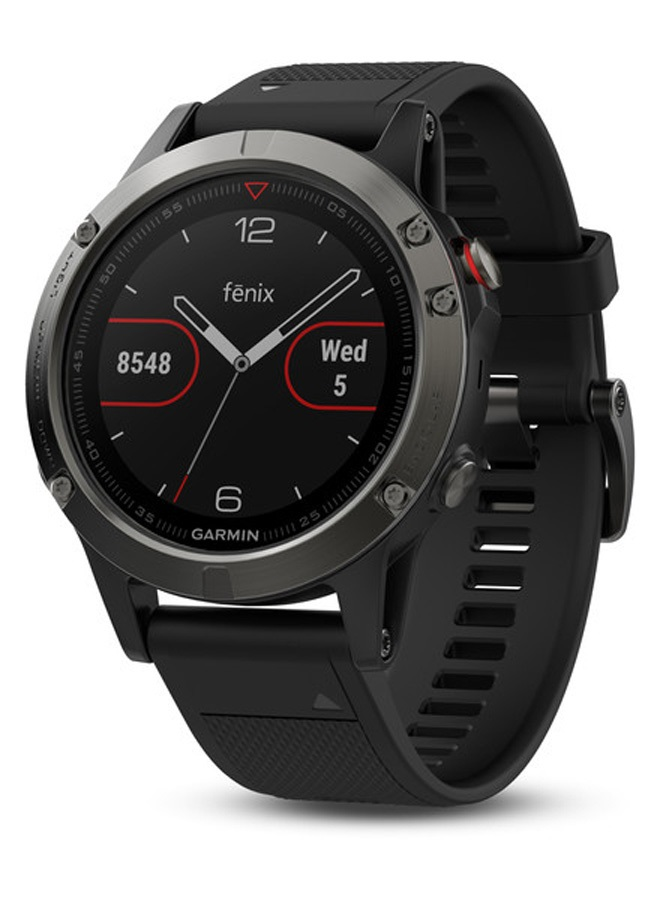 Garmin Fenix 5 Watch Multisport GPS Smartwatch, Slate Grey