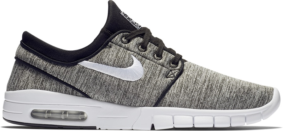 size 40 9174f 930f6 Nike SB Stefan Janoski Max Men s Skate Shoes, UK 7 Black White
