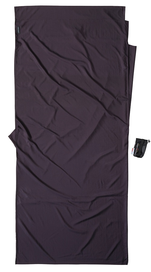 Cocoon Thermolite Silkweight Sleeping Bag Liner, 220x90cm Volcano