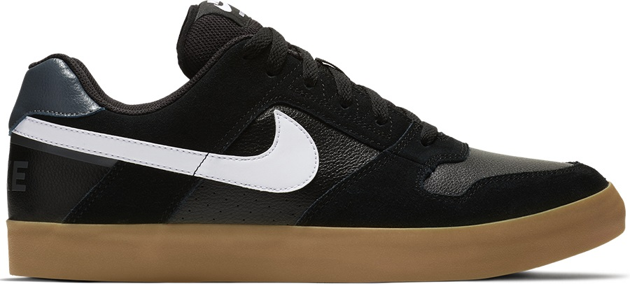 various colors 3af15 4a05c Nike SB Zoom Delta Force Vulc Men s Skate Shoes, UK 7 Black White Gum