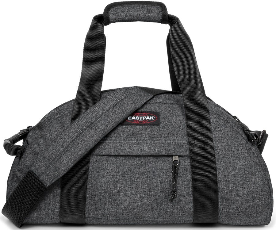Eastpak Stand Duffel Travel Bag, 32L Black Denim