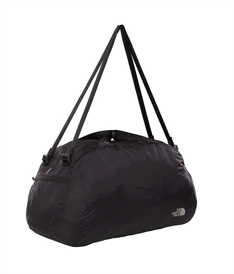 The North Face Flyweight Duffel, TNF Black/Asphalt Grey One Size