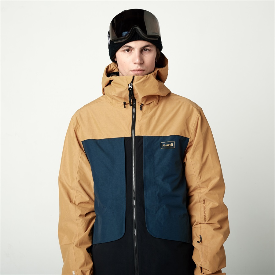 Tracker Snowboardski Insulated M Mustard 2l Planks Jacket RqdtWFdw