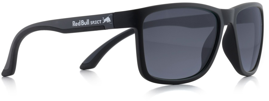 Red Bull Spect Twist Smoke Polarised Sunglasses, Matte Black