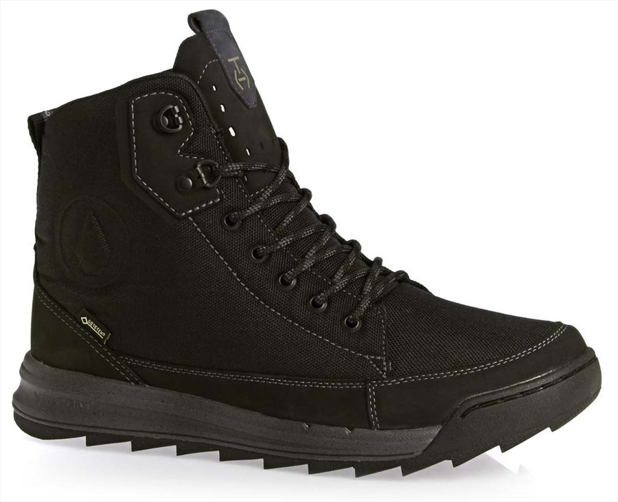 Volcom Roughington GTX Men's Winter Boots, UK 6.5 New Black