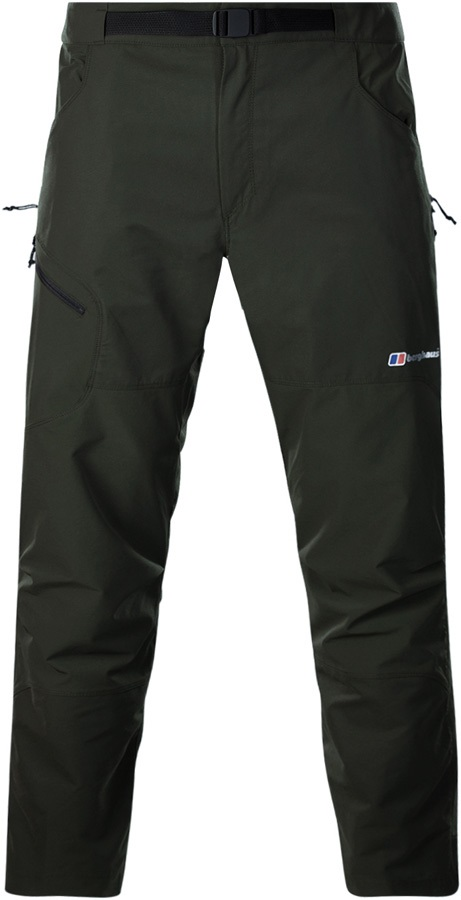 Berghaus Fast Hike Pant Short Hiking Trousers, 32/30 Chive