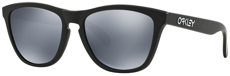Oakley Frogskins Black Iridium Sunglasses, Matte Black