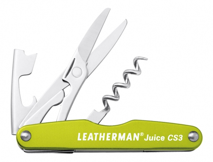Leatherman Juice Cs3 Pocket Multi Tool 4 In 1 Moss Green
