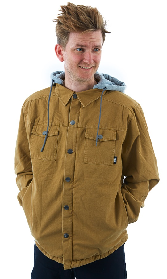 Saga Workwear Ski/Snowboard Insulated Jacket, L Tobacco