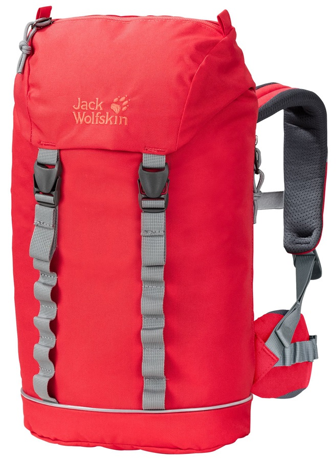 Jack Wolfskin Child Unisex Jungle Gym Pack Backpack, 10L Tulip