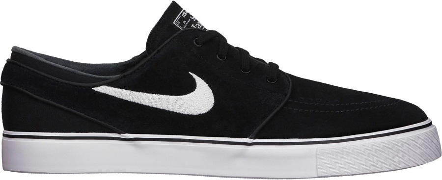 wholesale dealer fce7e b29bc Nike SB Zoom Stefan Janoski Men s Skate Shoes UK 12 Black White