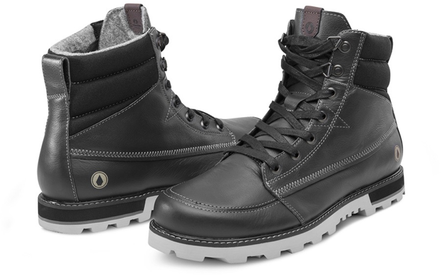 Volcom Sub Zero Men's Winter Boots, UK 7 Gun Metal Grey