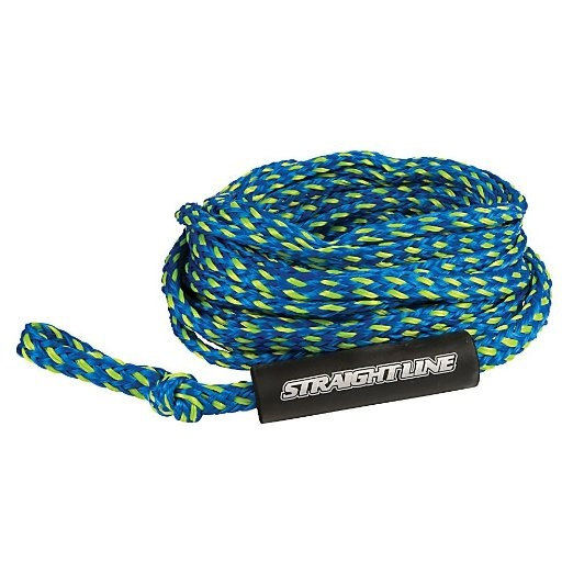 Straight Line Supreme Heavy Duty Tube Rope, For 3 Rider Tubes Bl Green