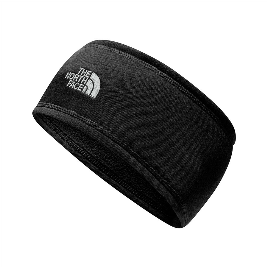 The North Face Surgent Earband Ski Headband, One Size TNF Black/White