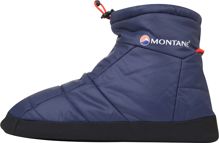 Montane Prism Bootie Insulated Camping Slippers M Antarctic Blue