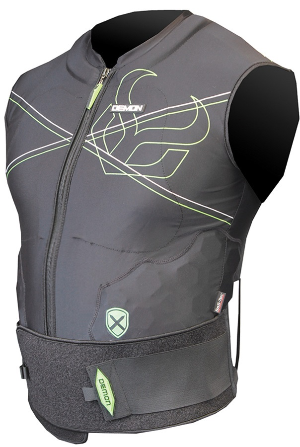 Demon Vest X D3O Snowboard/Ski Body Armour XL Black