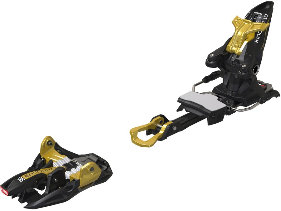 marker kingpin 10 ski bindings 125mm blackgold