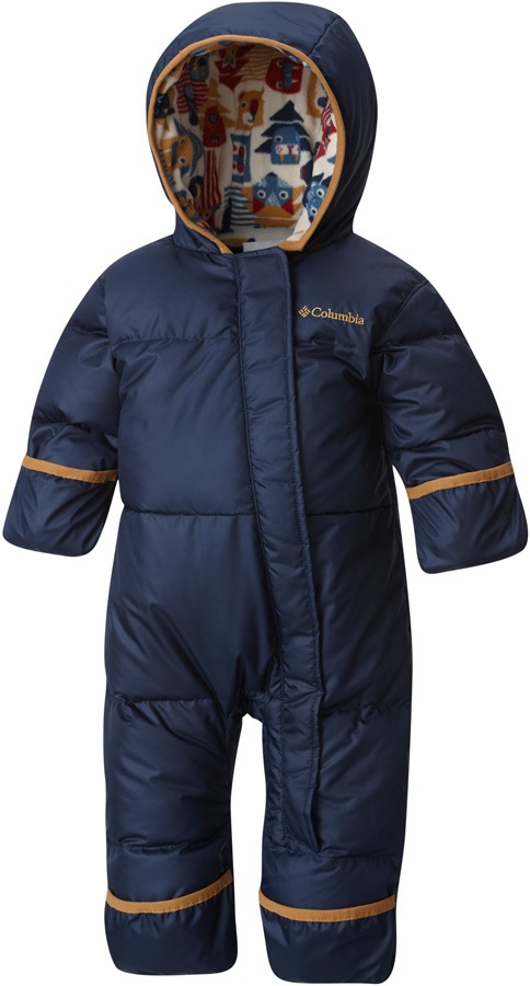 Columbia Snuggly Bunny Infant Snow Suit, 6-12 M Collegiate Navy