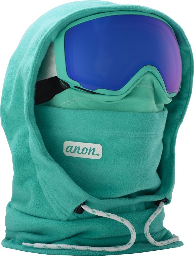 Anon XL HD Clava Anon MFI Only Women's MFI Facemask, XL Empress Teal