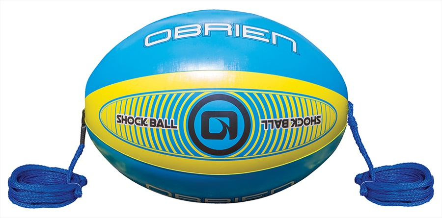 "O'Brien Shock Ball Towables Rope Float, 60"" Blue Yellow 2019"