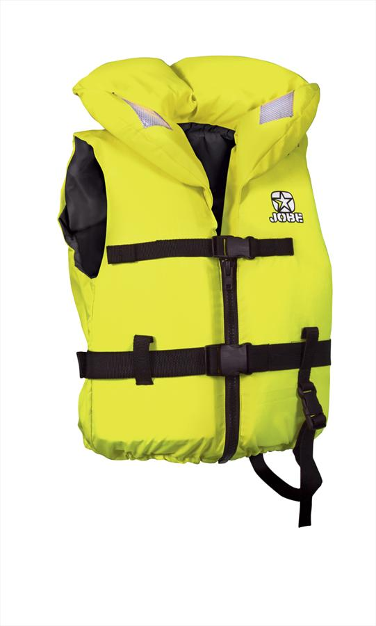 Jobe Comfort Boating CE Kids Buoyancy Vest, 3XS To 2XS Yellow
