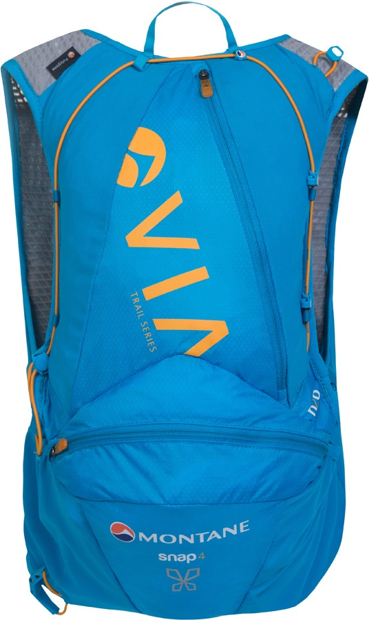 Montane VIA Snap 4 Women's Trail Running Vest Pack, 4L Cerulean Blue