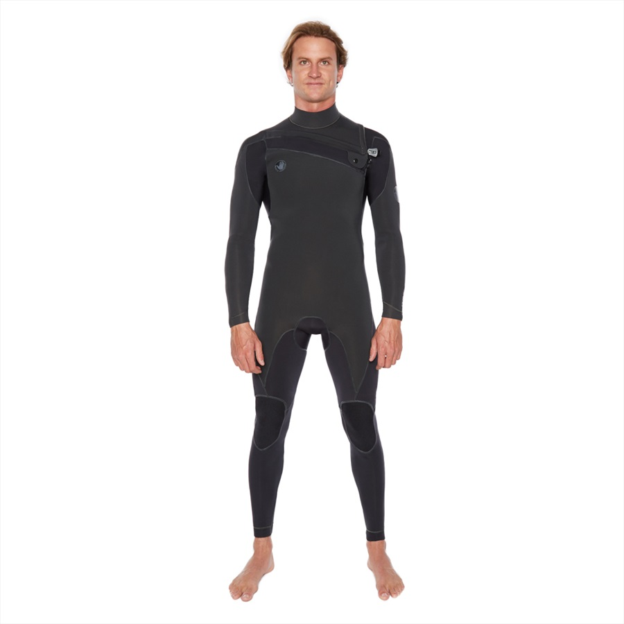 Body Glove Pr1me 3/2 Slant Zip Full Suit Surfing Wetsuit, XL Black