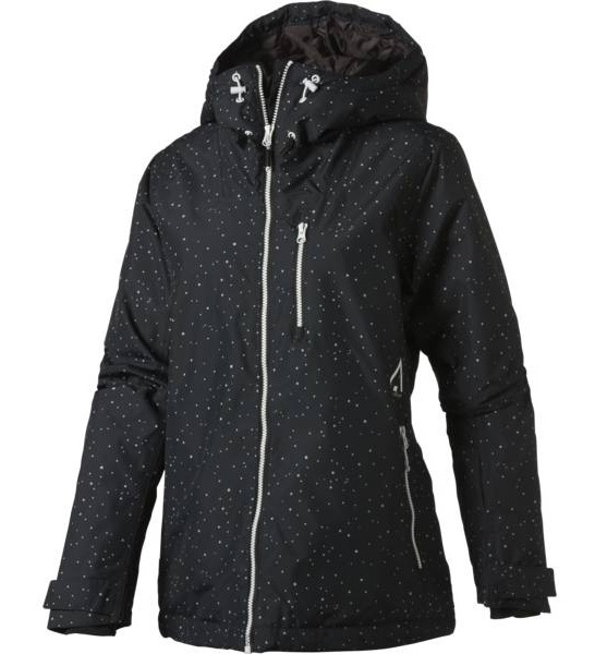 Wearcolour Cake Women's Ski/Snowboard Jacket, M Black Galaxy