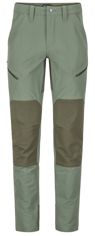 "Marmot Highland Pant Softshell Outdoor Trousers, 30"" Crocodile"