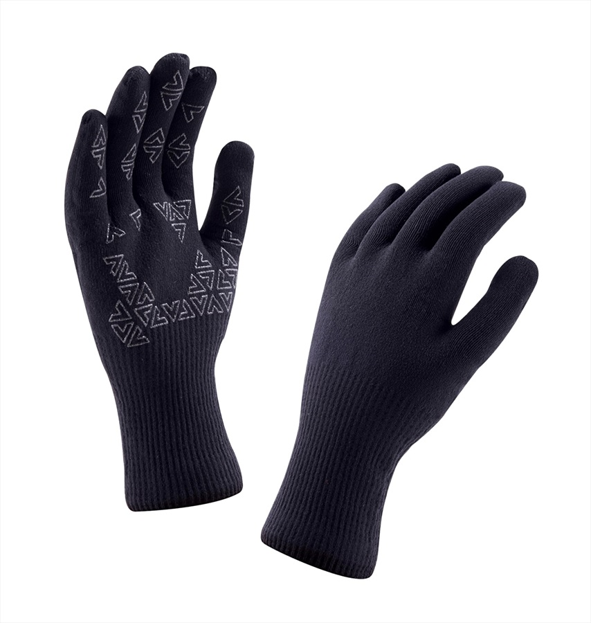 SealSkinz Ultra Grip Gloves, L Black
