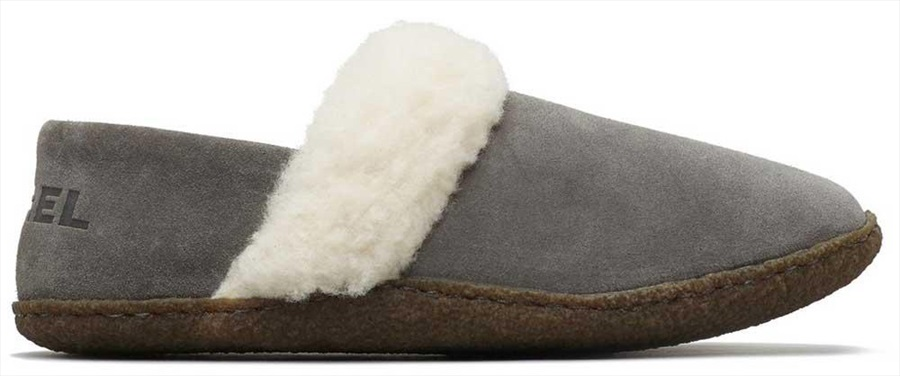 Sorel Nakiska II Women's Slippers, UK 4 Quarry/Natural