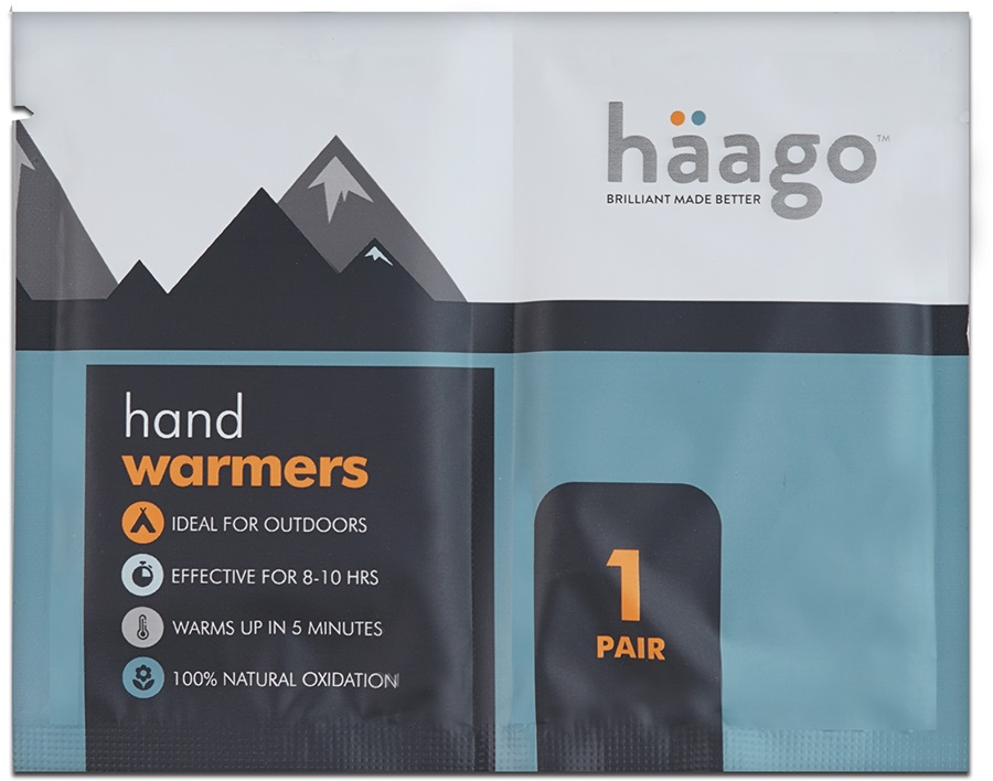 Haago Disposable Hand Warmers, One Pair