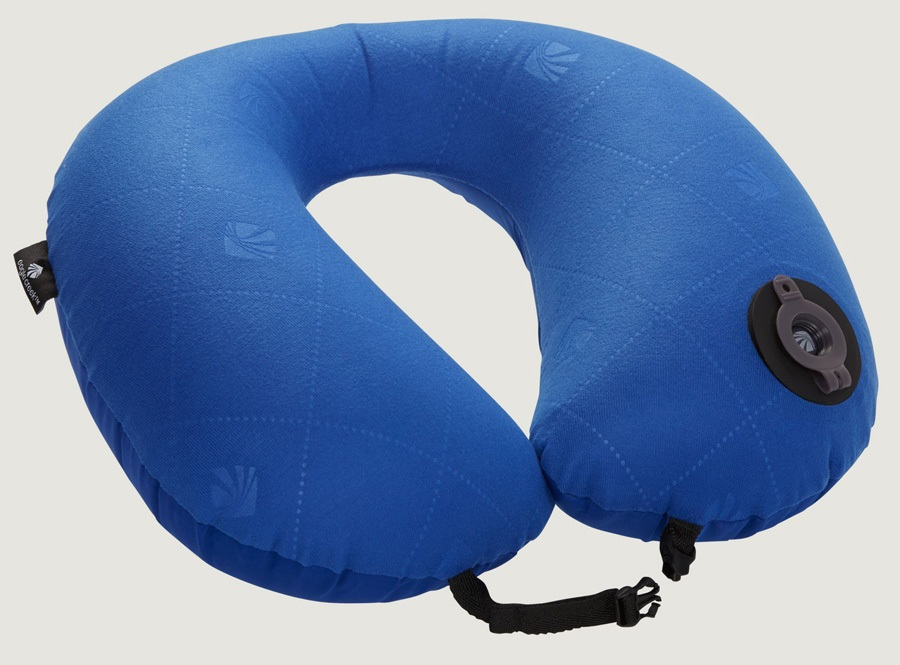 Eagle Creek Exhale Neck Pillow - Blue Sea