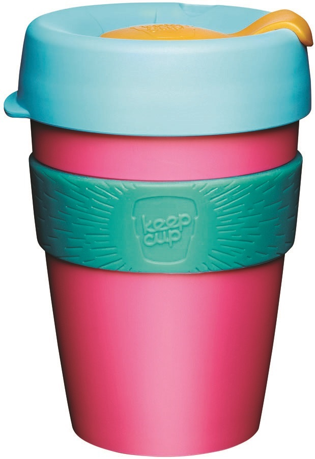 KeepCup Original Reusable Tea/Coffee Cup, 340ml/12oz Magnetic