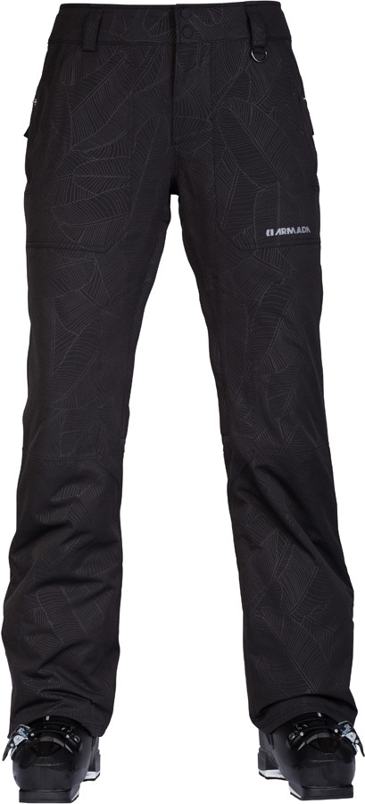 Armada Lenox Insulated Women's Ski/Snowboard Pants, M Banana Leaf